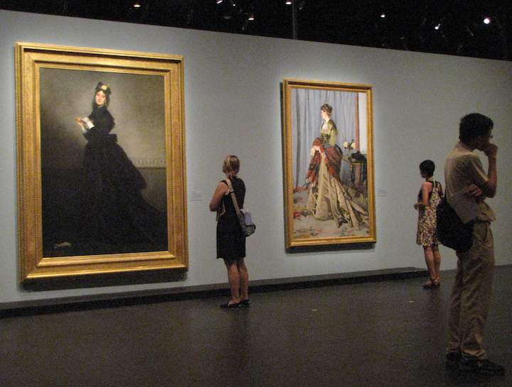 D Art Exhibition Singapore : Dreams and reality museum d orsay exhibit at the national