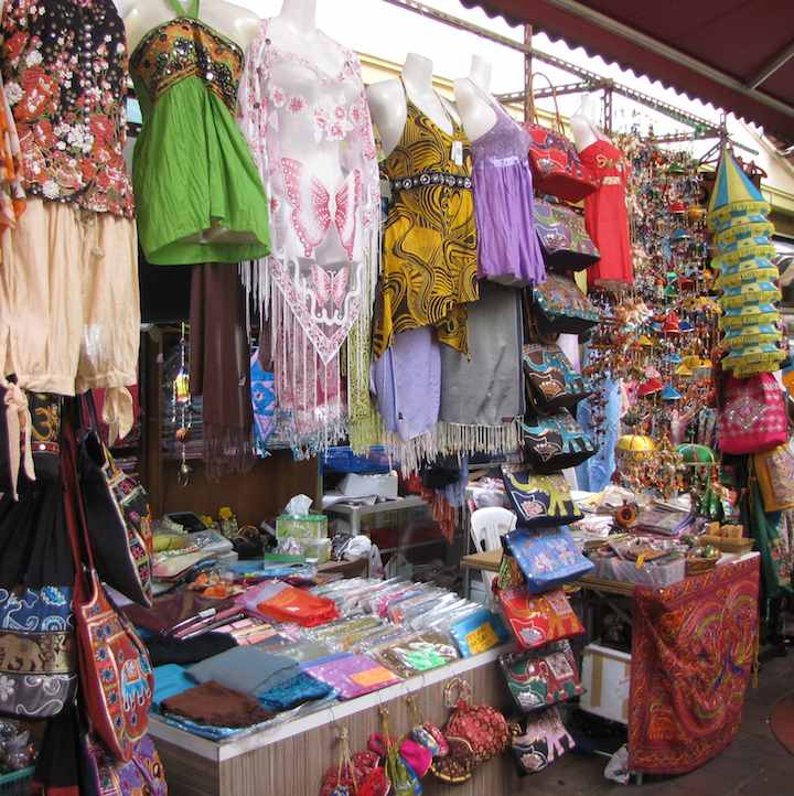 Photo of a market in Little India