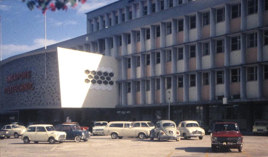 photo of Singapore Polytechnic in 1970
